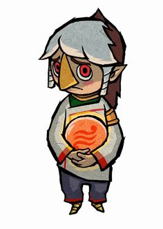 The Legend of Zelda: Prince Komali from Zelda: The Wind Waker (official art)