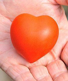 O tomate em forma de coração foi vendido pelo equivalente a R$ 61 (Foto: Reprodução)