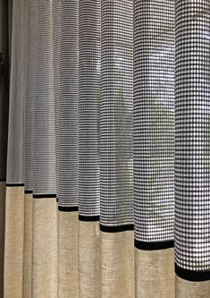Home Curtains, Curtains With Blinds, Window Curtains, Steel Curtain, Curtain Designs For Bedroom, Home Interior Design, Interior Decorating, Rideaux Design, Window Coverings
