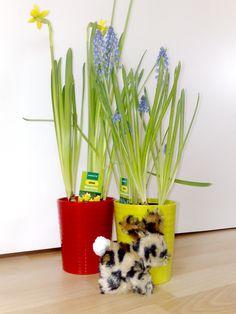 Häschen Leonie - ganz weich, aus Kunstfell genäht, mit Wollbommelschwänzchen