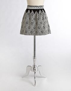Alexus Embroidered Skirt