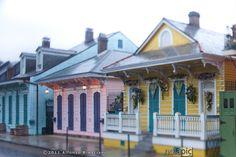 Shotgun Houses - New Orleans