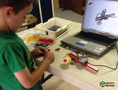 electricBricks - Actividades de robotica infantil con WeDO