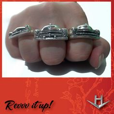 1949 Mercury Ring Desoto Grille look Ring|Hot Rod Jewelry | Automotive Jewelry | Classic Car Enthusiast Jewelry for Gearheads by Hi Octane Jewelry