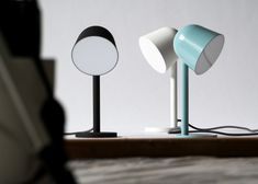 Something designs lamp for Ligne Roset to look like a bellflower