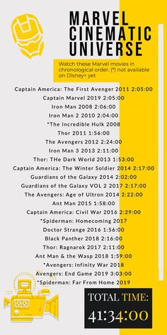 How About a Disney Plus Marvel Movie Marathon? Marvel Films In Order, Avengers Movies In Order, Marvel Movies List, Marvel Avengers Movies, Marvel Marvel, Avengers Movie Series, Avengers Poster, Avengers 2012, Captain Marvel