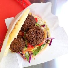 Vegan Falafel at VERTS Kebap