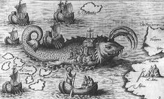 While most of these creatures were probably just dolphins or whales or seals, to the pirates that encountered them, they were often fearsome creatures.