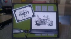 Motorcycle father's day card