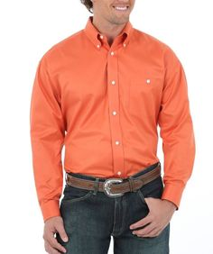 Cinch® Men's L/S Coral Dot Print Button Shirt | Cinch® Shirts ...