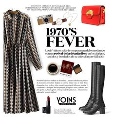 """1970's fever"" by karicarmina ❤ liked on Polyvore featuring Daniel Wellington, Hermès, Polaroid, NARS Cosmetics, Jennifer Fisher and yoins"