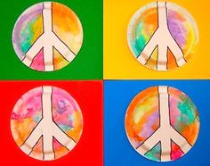 For Martin Luther King, Jr Day -- inspiring crafts, activities, and art projects that promote peace and diversity. Art Projects For Teens, Easy Art Projects, Art For Kids, History Projects, Groundhog Day, Peace Crafts, King Craft, Journal Vintage, January Crafts
