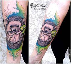 Ježko ... 2015    #art #tat #tattoo #tattoos #tetovanie #original #tattooart #slovakia #zilina #bodliak #bodliaktattoo #bodliak_tattoo #hedgehog_tattoo #animal_tattoo