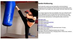 4 Easy Health And Fitness Tips For a Healthy You Kickboxing Workout, Exercise Workouts, Workout Ideas, Exercises, Fitness Planner, Fit Motivation, Health And Fitness Tips, Get In Shape, Workout Programs