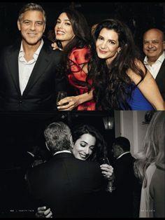 Итальянский Vanity Fair поделился эксклюзивными фото свадьбы Джорджа Клуни и Амаль Аламуддин. Заглянем в свадебный альбом?)
