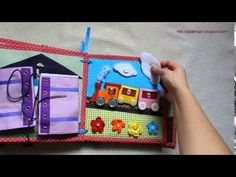 Quiet book. Розвиваюча книжечка з совою для хлопчика - YouTube