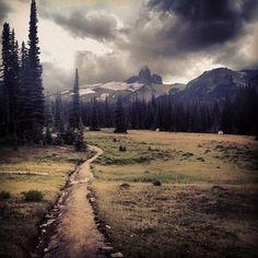heading into the alpine (via Arc'teryx photographer Brian Goldstone)