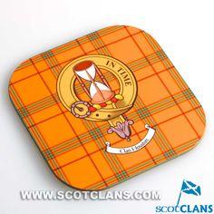 Houston Clan Crest Coaster