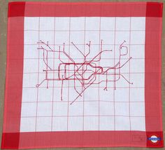 Susan Stockwell, S.Stockwell Underground Map, 2012. Click to view larger image