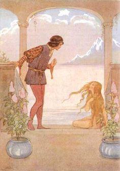 little mermaid illustrations - Google 검색