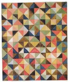 Gunta Stölzl - Bauhaus Master; Design for a carpet ca.1923 21x18 cm Bauhaus-Archive, Berlin