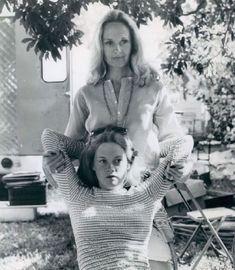 Tippi Hedren and Melanie Griffith