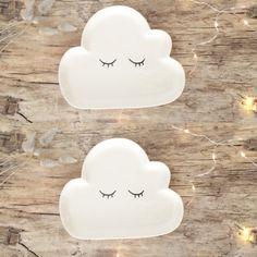 Assiette nuage - Le Repère des Belettes