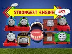 The World's STRONGEST ENGINE Trains #93 - Thomas and Friends for Children