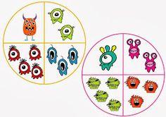 Mi grimorio escolar: LA RUEDA DE LOS MONSTRUOS Little Monsters, Halloween, Kindergarten, Kids Rugs, Psp, School, Monsters, To Tell, Joy