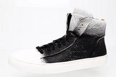 John Varvatos Collection 315 Raw Edge Leather Sneaker