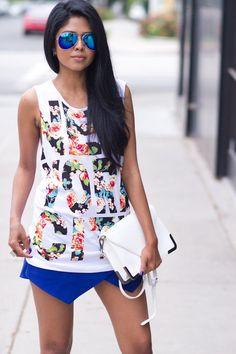 Sevenly Tanks & Chucks. Perfection #Graphic #Tanks #Skirts