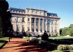 Completed in 1917, the Bosch Palace, in Buenos Aires, Argentina, became of interest to U.S. Ambassador Robert Woods Bliss during a reception there in his honor, and in 1929, was sold by the Bosche's to the U.S. State Department for use as the Embassy + residence of the United States Ambassador to Argentina. The mansion, sits today on what is the Avenida del Libertador, overlooking Parque Tres de Febrero.