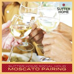 May is Moscato month! To celebrate, host a Moscato tasting party. #SocialHour