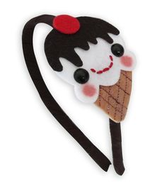 Ice Cream Headband  Kawaii Dessert Head Band by emandsprout, $14.00
