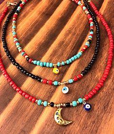 Gypsy choker with evil eye. bohemian jewelry hippie accessories tribal style tibet jewelry - Gypsy choker with evil eye. Cute Jewelry, Diy Jewelry, Beaded Jewelry, Jewelery, Jewelry Accessories, Handmade Jewelry, Jewelry Making, Beaded Bracelets, Bohemian Accessories