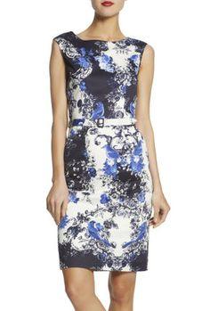 Wedgewood Print Signature Dress — Maxshop.com
