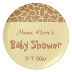 Sophisticated Giraffe Print Paper Plates Pictures - Best Image ...