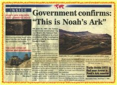 Noah's Ark discovered in the Mountains of Ararat. Read the true story of finding Noah's Ark and the artifacts found there. It's the most exciting discovery adventure EVER and was found in Turkey. Noah Flood, Whole Earth, Hunter Gatherer, Jesus Is Lord, The Covenant, Bible Scriptures, Archaeology, Discovery, National Parks