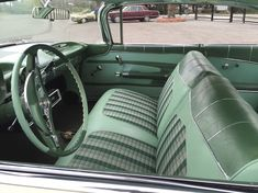 Merle Kelly Ford >> 1963-Chevrolet-Impala-white-leather-green-ostrich-interior ...
