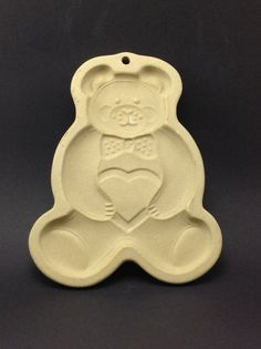 The Pampered Chef LTD. 1991 Teddy Bear Vintage Cookie by Jhollas