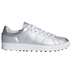 adidas Ladies adicross Classic Golf Shoes Golf Membership, Classic Golf, Womens Golf Shoes, Ladies Golf, Unique Colors, Adidas Stan Smith, Me Too Shoes, Adidas Sneakers