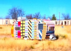 Crochet mobile home - Dimfies