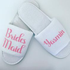 0b1f1cd7e81 Personalised Wedding Slippers