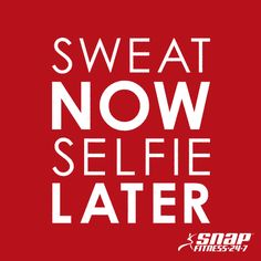 Do it for the after selfie. #SnapNation
