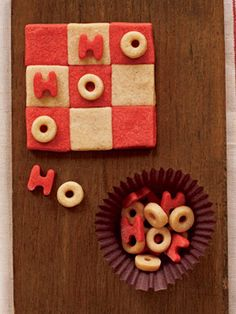 Tic Tac To Holiday cookies...