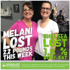 Momma and daughter duo just keep crushing their results!!! This new lifestyle looks so good on you guys! 💚💚💚 ❓Ask about our 3-Day Trial--and get a taste of our program❓ 🌎 beckyandvick.goherbalife.com  With me as your coach you'll receive 👫1 ON 1 COACHING 🍎MEAL PLANS 🏋🏻‍♀️WORKOUTS ⚖WEEKLY WEIGH INS 🏘BEING PART OF A GREAT COMMUNITY 🙋💌ASK ME HOW...message me for more info  #herbalife #herbajunkies #theshakehouse #fitness #gainmuscle #nutrition #herbalifenutrition #eatclean…