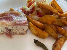 Juhtúrós csirkemell baconben French Toast, Bacon, Breakfast, Food, Morning Coffee, Essen, Meals, Yemek, Pork Belly