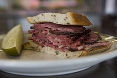 Langer's Delicatessen is LA's most famous old school deli. You can't leave LA before stopping by for their pastrami sandwich. #diners #deli