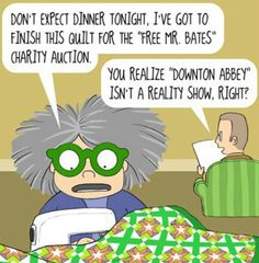 Downton Abbey Charity Auction: Quilter Style
