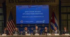 Encuentro en la Cámara de Comercio. Foto: Ismael Francisco/ Cubadebate
